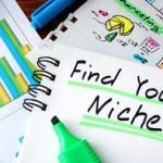 """Find Your Niche!"" underlines with green highlighter"